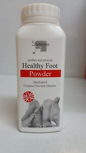 MEDICATED HEALTHY FOOT POWDER SOOTHES AND PROTECTS HEALTHY FOOT -75G