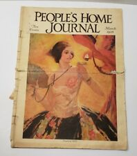 PEOPLE'S HOME JOURNAL MAGAZINE MARCH 1928