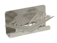 Corvette Business Card Holder C1 Brushed Metal