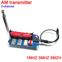 3-Channel AM Transmitter 1MHZ 3MHZ 5MHZ Finished board + Antenna + Cable