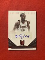2012-13 Panini Momentum Damon Jones Auto Monumental Marks Red SSP 9/10!!!