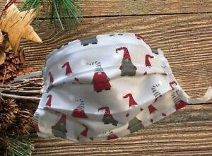 Face mask Double Layered with filter pocket posted in 1 day Christmas Gnomes
