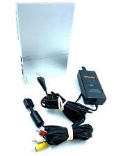 Console Sony PS TWO PS2 Slim Playstation 2 avec câbles sans manette Satin