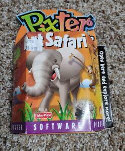 Brand New Original Unopened Fisher-Price Pixter Art Safari