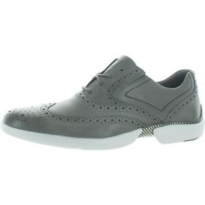 Rockport Mens Total Motion Advance Wing Tip Leather Oxfords Shoes BHFO 3267