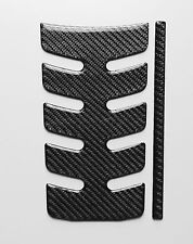Fuel Gas Tank  Pad Protector Decal Fit BMW K1300 R / K1200  Real Carbon Fiber