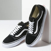 New Hommes Vans Old Skool Skate Noir Chaussures Shoes Classic canvas suede Toute