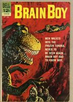 Brain Boy #3-1962 vg 4.0 Dell Vic Prezio / Frank Springer