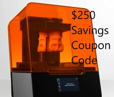 New Formlabs Form 3 SLA 3D Printer Coupon