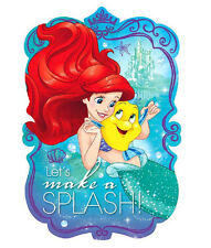 ARIEL DREAM BIG INVITATIONS PACK OF 8 BIRTHDAY PARTY INVITES