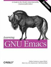 Learning GNU Emacs (Paperback or Softback)