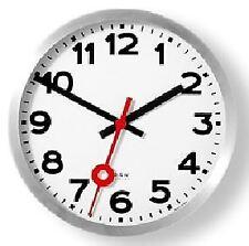 Nextime Number Glass 30cm Wall Clock (B1003002)