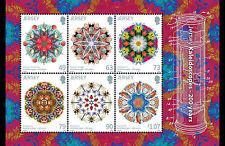 JERSEY 2017  200yrs Kaleidoscoop    blok-m/s   postfris/mnh