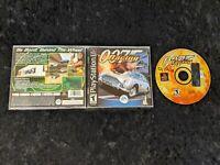 007 Racing PlayStation 1  2000 PS1 Black Label Complete w/Manual CIB James Bond