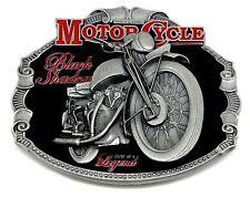 HRD Vincent Belt Buckle Black Shadow Biker Classic Motorcycle Authentic Licensed