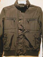 Calvin Klein, Women's Black Jacket, Size S/P with Hoodie in collar   VGC