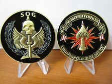 CIA Special Operations Group Non Official Cover SOG NOC Officer Challenge Coin