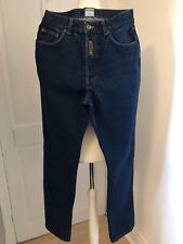 Moschino Love & Peace Mens Vintage Button Fly Blue Jeans Waist 32 Leg 33