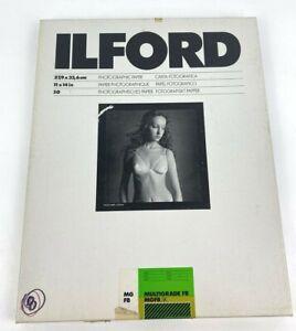 "Ilford Multigrade FB Matte Photo Paper 11x14"" MGFB .5K 31E225 Double Weight UK"