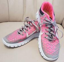 Frauen Nike free 6.0 Premium Pink Grau leuchtend weiß Gr.39