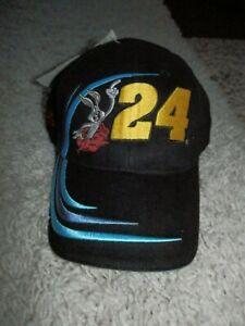 Warner Bros Bugs Bunny Jeff Gordon hat Snap Back Hat VTG NEW RARE  NASCAR