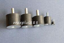 5pcs Male Thread 25*20mm M6 VD Rubber Anti Vibration Shock Pad Silent block