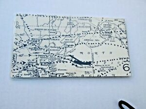 Vintage Air Travel Map Checkbook Cover Fabric w vinyl Custom Handmade