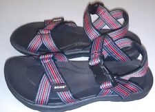 NWT Bogs Women's Rio Stripes Athletic Sport Sandals Black Multi US 6 M NEW