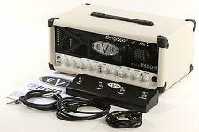 EVH 5150 III 50-watt 3-channel Tube Guitar Amplifier Ivory Amp Head + Footswitch