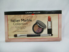 New Laura Geller Italian Marble Collection Eye & Lip Color Duo Make Up Set