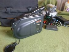 Memorex Compact Video Camera Recorder Vhs Model Crd0050 Works Case & Accessories