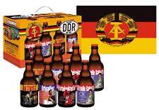 DDR Ostalgie 8er Bier Box Teil 1 Pils Geschenk für Freund Mann Opa usw.mit Fahne