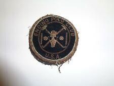 Vintage Encino Polo Club Patch