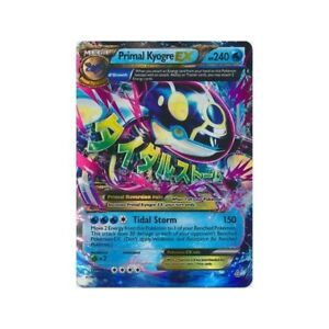 PRIMAL KYOGRE EX 55/160 PRIMAL CLASH SET POKEMON SUPER RARE CARD