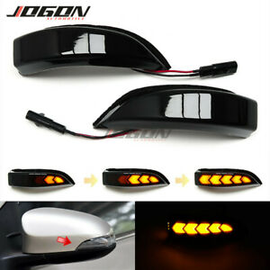 For Toyota Corolla Camry Vios CHR Altis LED Dynamic Side Mirror Sequential Light