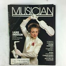 April 1984 Musician Magazine Laurie Anderson Charlie Haden Paul Weller