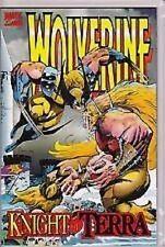 Wolverine Knight of Terra #1 VFNM Marvel Comics Aug 1995 Edginton Ostrander