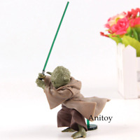 Star Wars Knight Master Yoda Jedi Knight PVC Action Figure Toy 6cm