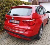 LADEKANTENSCHUTZ EDELSTAHL CHROM für BMW X3 F25 | BJ 2010-2017 | mit ABKANTUNG