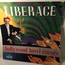 Hollywood Bowl Encore LP By Liberace KLP 511 Coronet Records 'non-breakable'