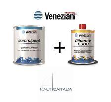 SMALTO ELASTICO PER GOMMONI GUMMIPAINT VENEZIANI 500 ml. + DILUENTE 6380 ml. 500