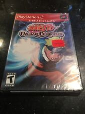 Naruto: Uzumaki Chronicles PS2 PlayStation 2 Greatest Hits New Factory Sealed
