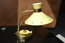 Ancienne Lampe de table diabolo LUNEL Vintage Table Lamp rené MATHIEU ? 1950