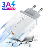 18W Fast Charge PD QC3.0 USB Quick Wall Charger Power Adapter For iPhone Samsung