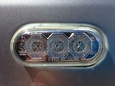 Suitable For VW, Caddy Golf MK3 MK4 LED Side Repeater Clear/ Chrome