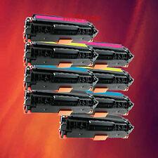 8 Toner CC530A CC531A CC532A CC533A for HP LaserJet NEW