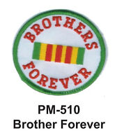 Little Brother Puppy Blue Applique Embroidered Iron On Patch 4.5 Inches