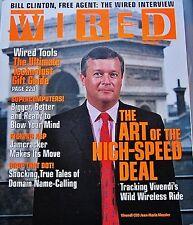 Wired Magazine December Dec 12 2000 Bill Clinton Interview Vivendi Jamcracker