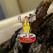 Ronald McDonald CUNO Water Quality Filter System Gold Tone Metal Pin Pinback