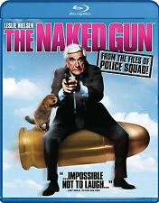 THE NAKED GUN NEW BLU RAY DISC MOVIE CLASSIC COMEDY FILM FUNNY LESLIE NIELSON